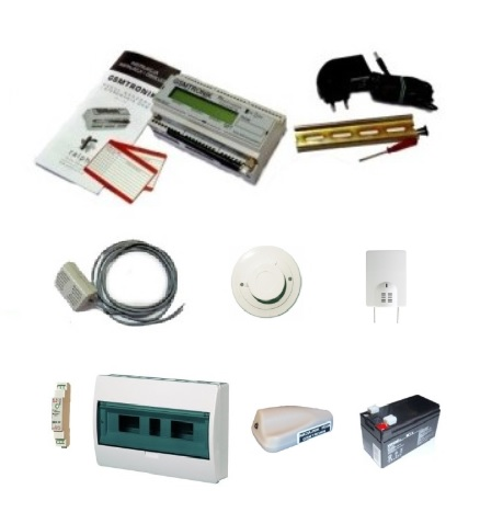 Podstawowy zestaw monitoringu serwerowni GSM-SERW-V1.02S