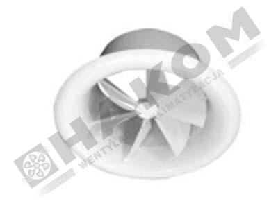 Nawiewnik wirowo-cylindryczny NWC-O