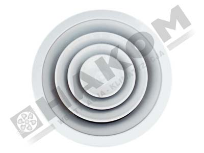 Anemostat aluminiowy DS-AL